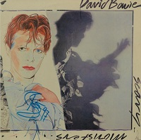 David Bowie Scary Monsters Signed Album, 1997