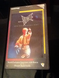 David Bowie Serious Moonlight VHS Video, Stereo, Dolby System