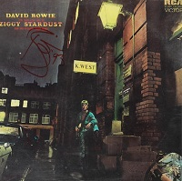 David Bowie The Rise And Fall Of Ziggy Stardust And The Spiders From Mars, Signed Album, 1993