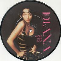 Diana Ross Work That Body 1981 UK limited edition 7