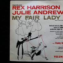 My Fair Lady Volume 4 EP Vinyl (1960s)