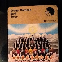 George Harrison - Dark Horse 8-Track Cartridge