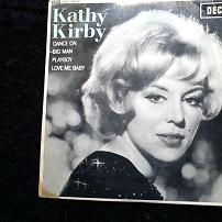 Kathy Kirby Dance On UK 4 Track 7 Vinyl