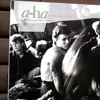 A-ha - Hunting High & Low UK LP Vinyl