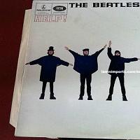 The Beatles Help! First Pressing Vinyl LP [UK] [PMC 1255] (1965)