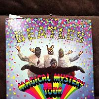 The Beatles - Magical Mystery Tour 1970s issue UK 6-track STEREO double 7