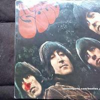 The Beatles Rubber Soul Japanese Red Vinyl LP [Japan] [OP 7450] (1966)