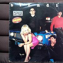Blondie - Plastic Letters French LP Vinyl