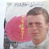David Bowie Crystal Japan Japanese 7 Vinyl
