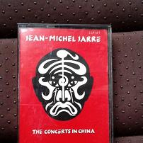 Jean-Michel Jarre - The Concerts in China UK Cassette Album
