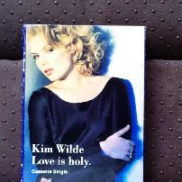 Kim Wilde - Love is Holy UK Cassette Single