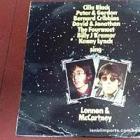 Various Artists - The Stars Sing Lennon & McCartney Vinyl LP