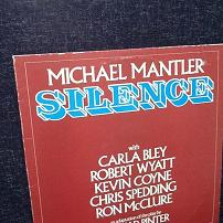 Michael Mantler - Silence UK LP Vinyl
