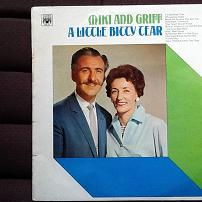 Miki and Griff - A Little Bitty Tear UK LP Vinyl