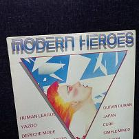 Various Artists - Modern Heroes Compilation UK Vinyl LP