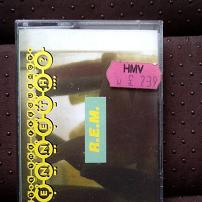 REM - What's The Frequency Kenneth? UK Cassette Single