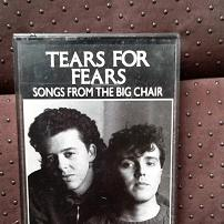 Tears for Fears - Songs from the Big Chair UK Cassette Album