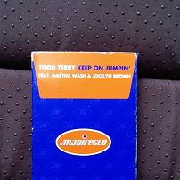 Todd Terry Feat. Martha Wash & Jocelyn Brown - Keep On Jumpin' UK Cassette Single