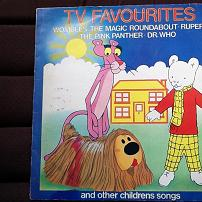 TV Favourites & Other Childrens Songs UK LP Vinyl