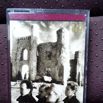 U2 - The Unforgettable Fire UK Cassette Album