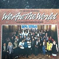 USA For Africa - We Are The World UK LP Vinyl