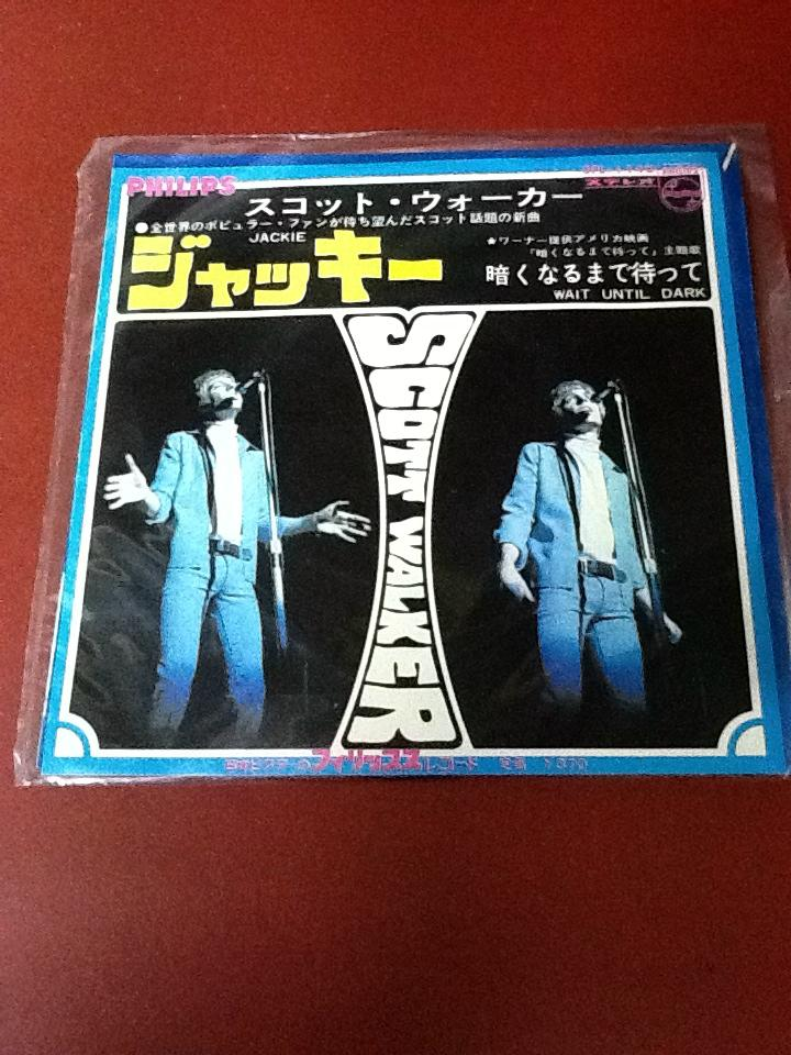 Scott Walker - Jackie Japanese Vinyl 7