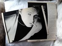 David Sylvian The Face 1980s clippings + postcards
